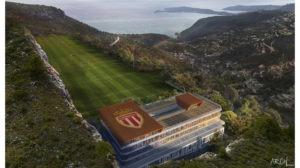 Le Centre de performance de l'AS Monaco à la Turbie sera bientôt prêt.
