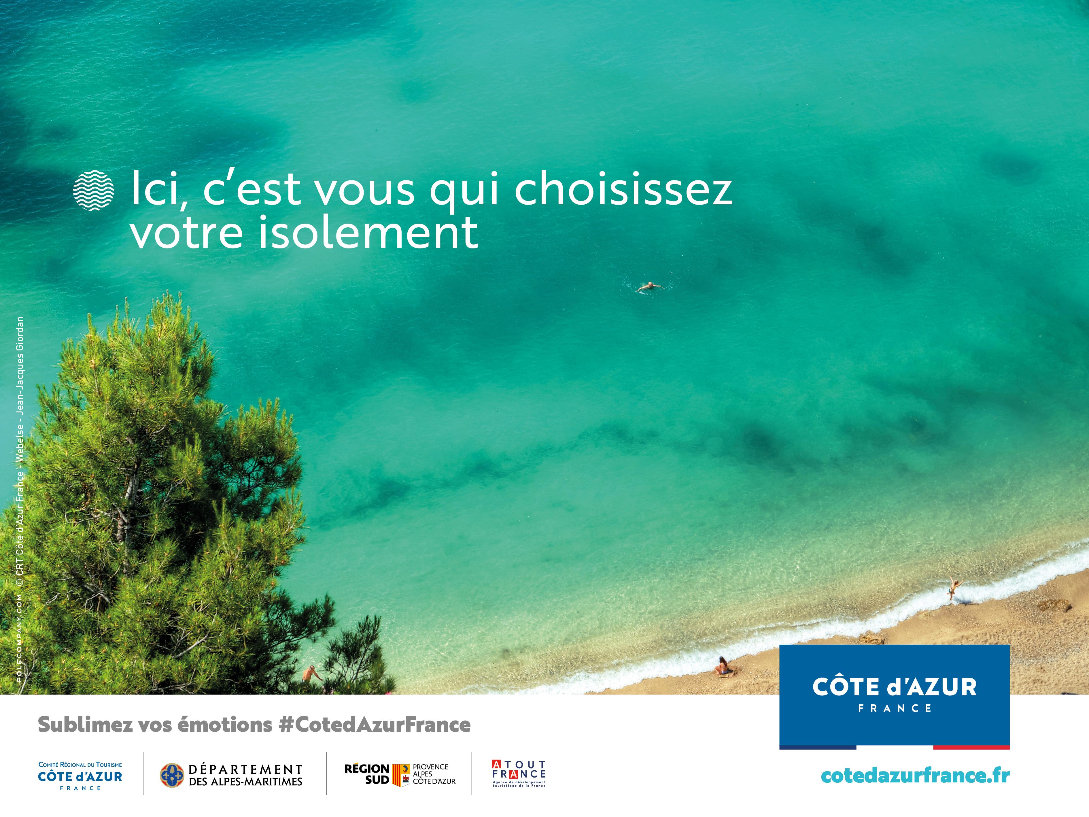 Nouvelle campagne du CRT Côte d'Azur