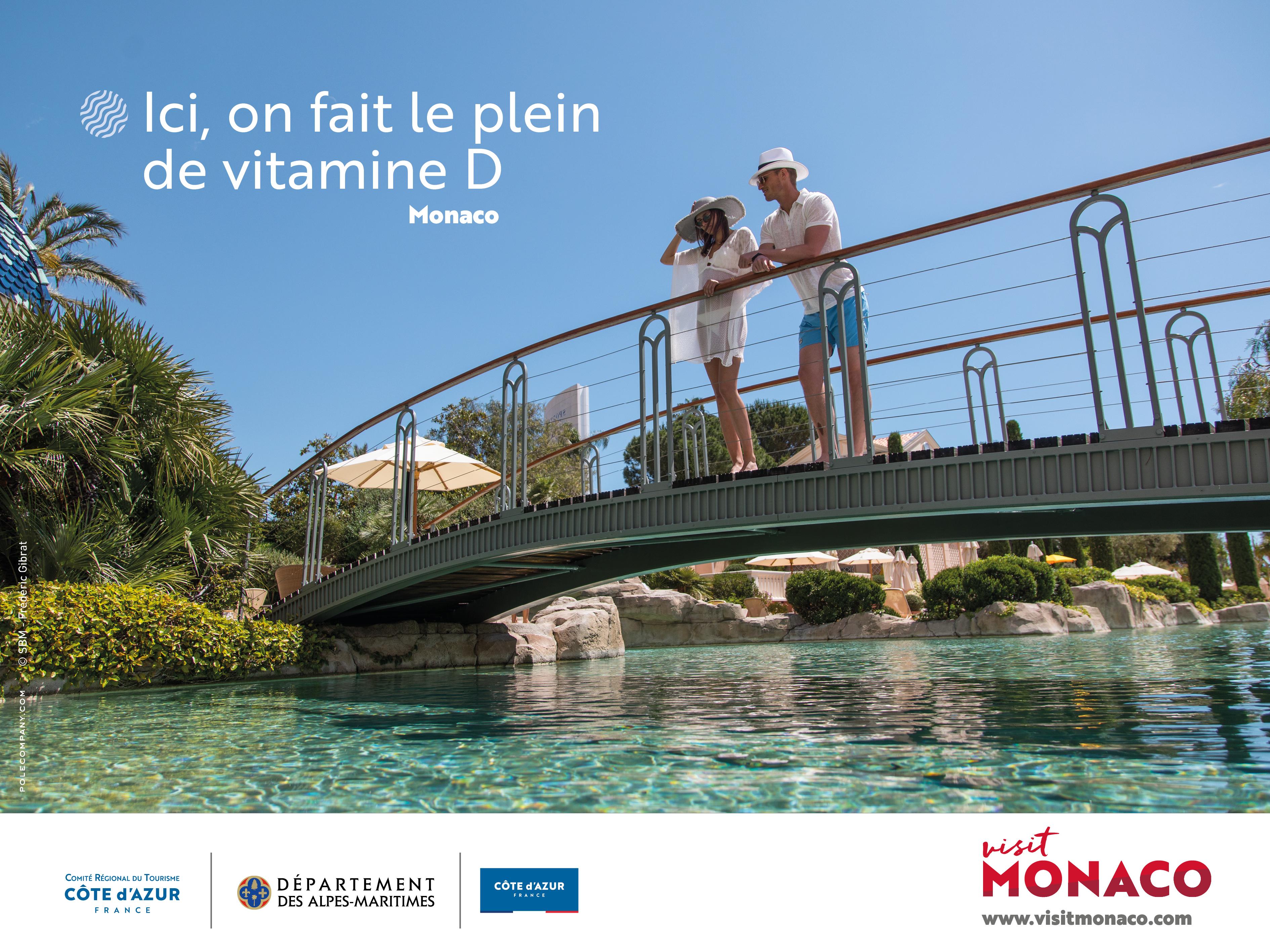 La campagne du CRT Côte d'Azur pour Monaco