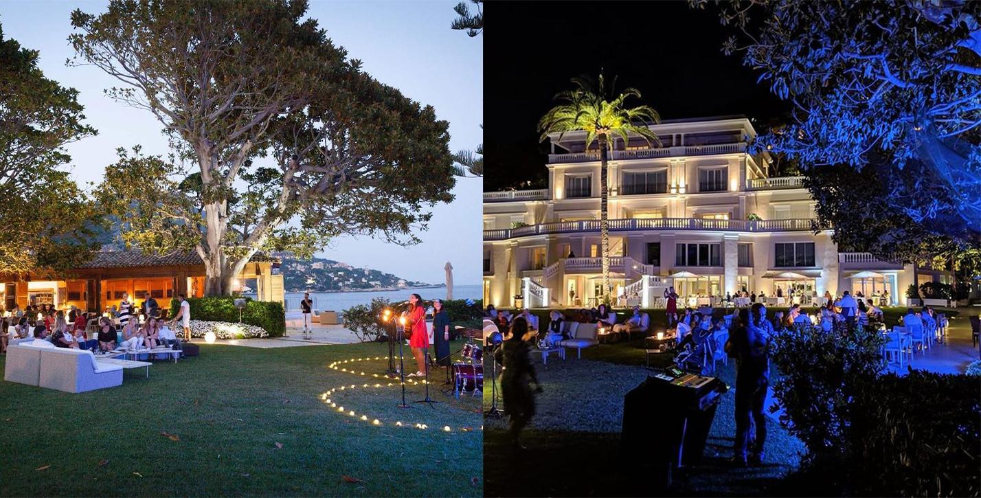 Les concerts au Cap Estel de jour et de nuit avec Les Nuits Dime On