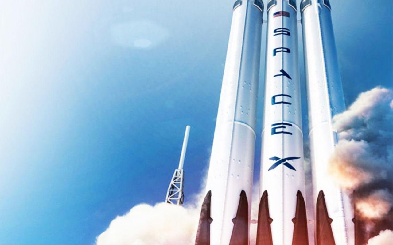 Space X décollage